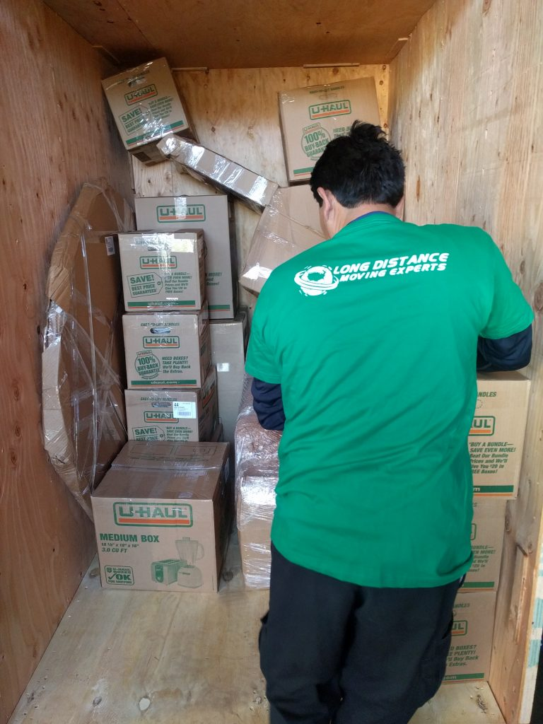 Loading Moving Truck - Long Distance Moving Experts